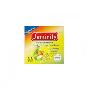 Sensinity Preservativos Tuti-Fruti 4 Uds