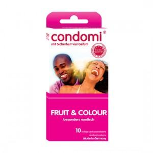 Condomi Preservativos de Sabores 10 Uds
