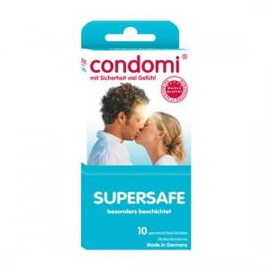Condomi Preservativos Extra Seguros 10 Uds