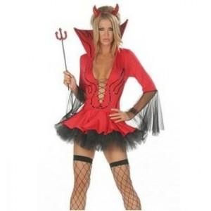 Disfraz Devil Diabla Sexy T.U.