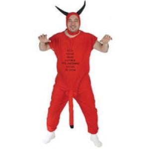 Disfraz Diablo Rojo