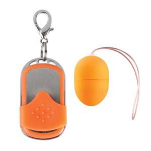 Huevo Vibrador 10 Velocidades Control Remoto Naranja Pequeño