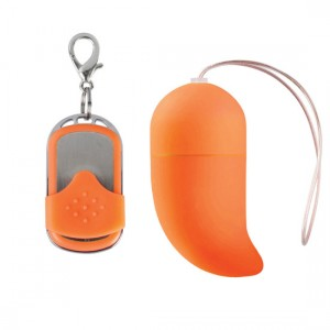 Huevo Vibrador Punto-G Inalámbrico Mediano Naranja