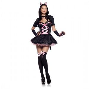 Leg Avenue Disfraz Femenino Gatita Presumida