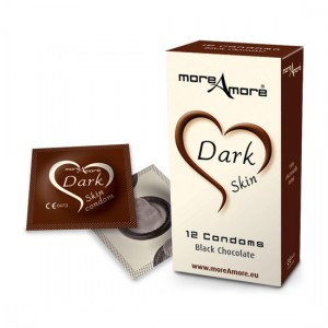 MoreAmore Condones de Chocolate 12 Unidades