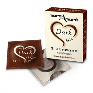 MoreAmore Condones de Chocolate 3 Unidades