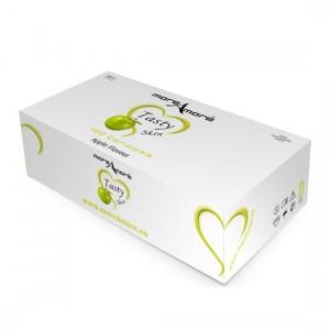 MoreAmore Condones Sabor Manzana (caja 100 unidades)