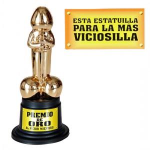 Premio Esta Estatuilla Para La Más Viciosilla