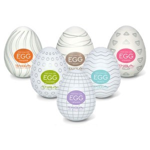 Tenga huevo masturbador pack 6 modelos