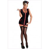 Enfermera Nurse Betty Vestido Negro