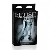 Fetish Fantasy Edición Limitada Pinzas para Pezones con Plumas