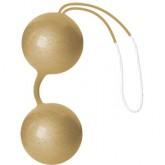 Joyballs delux bolas chinas metalizadas oro