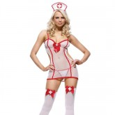 Leg Avenue Disfraz Sexy de Enfermera