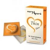 MoreAmore Condones Ultrafinos 12 unidades