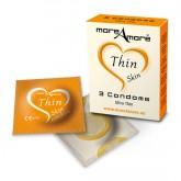MoreAmore Condones Ultrafinos 3 unidades