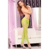 Neon Footless Panties Verde