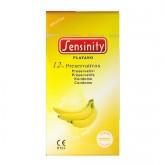 Sensinity Preservativos Platano 12 Uds