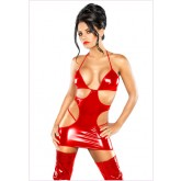 Vestido Cut Out Mini Rojo