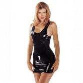 Vestido Látex Negro
