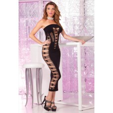 Big Spender Seamless Vestido Negro