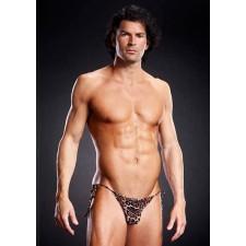 Bikini Leopardo Para Hombre