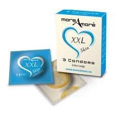 MoreAmore Condones Extra Grande 3 Uds