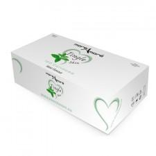 MoreAmore Condones Refrescantes y Sabor Menta (caja 100 unidades)