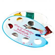 Paleta de pintor 6 preservativos de sabores