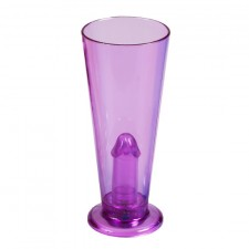 Party Pecker Vaso Lila con Luz