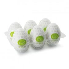Tenga Huevo Masturbador Verde Huevera 6 Uds